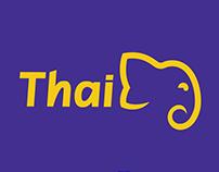 Thai Airways - Branding and Advertising Design