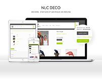 Site sur mesure - www.nlcdeco.fr
