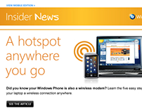 Windows Phone email newsletter