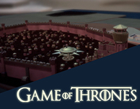 Game of Thrones cinema 4D