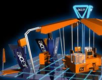 Acer Aspire PREDATOR exhibition stand for GITEX 2008