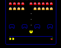 Pac Man x Space Invaders