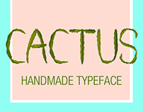 CACTUS - Handmade Typeface