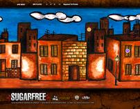 Sugarfree - Web Site