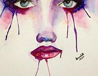 Bleeding Paint