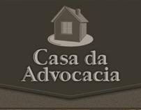 Layout Site Casa da Advocacia