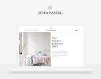 Schlossberg Switzerland - E-Commerce Redesign Concept