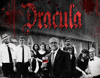 TWO Theatrical Poster: Dracula