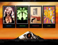 Volcano Design Studio - Web Site