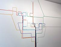 Rapid Change Exhibition Foyer Graphics