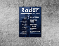 Radar: Monthly Poster