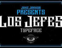 LOS JEFES - TYPEFACE