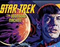 Flat Color Star Trek Posters by Garth Glazier