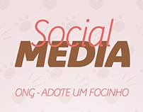 Social Media // ONG Adote um Focinho
