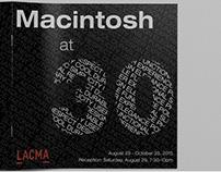 Macintosh at 30 Brochure Book