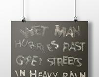 Haiku Poster