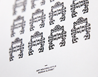 LETTER BOX: Ornamental Typography