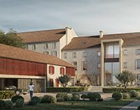 Maison rehabilitation for Caprini&Pellerin Architecture