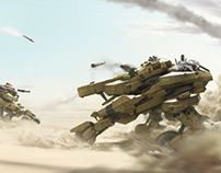 Mecha-Tanks Concepts