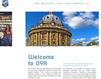 Oxford Youth Academy Website + Logo