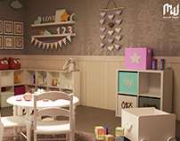 Kid's Bedroom for girl