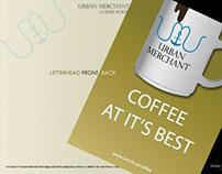 URBAN MERCHANT Coffee House - Letterhead