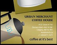 URBAN MERCHANT Business Card Design