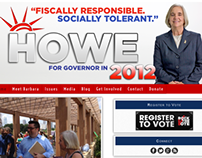 Howe for Governor Website