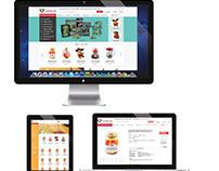 Ucanada.com VI design & UI web design