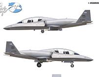 IA110 Aguará Guazú Concept Light Attack Aircraft Views