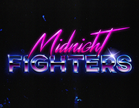 Midnight Fighters Logo and Identity