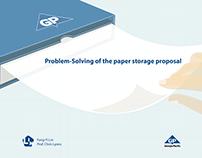 Paper storage proposal