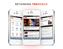 TED Mobile Web Redesign