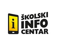 Školski info centar identity redesign / design