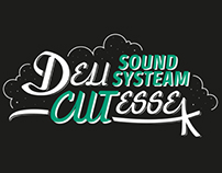 Delicutesse Soundsysteam Custom Lettering