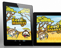 Feed The Monkey - Game Illustrations