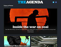 Art Direction & Branding: Launch Issue of The Agenda