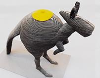 3D Kangaroo Teapot