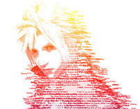 Final Fantasy typography!