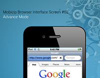 iPhone User Interface Design - Mobicip Browser