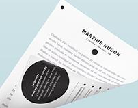 Logo Martine Hudon