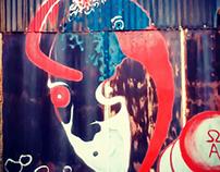 Τοιχογραφία στον Ταύρο Αττικής - Athens Wall Design