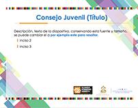 Consejo Juvenil AGA - PowerPoint Design