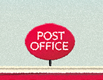 Post Office Illustration