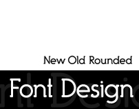 New Old Rounded Font Design