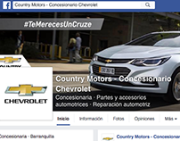 Country motors chevrolet Colombia