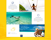 it's summer time - Landing Page