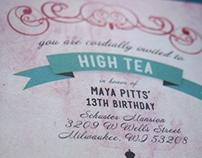 High Tea Invite