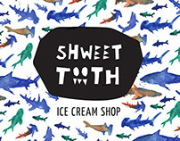 Shweet Tooth Ice Cream – Design/Identity + Process