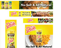 Mrs. Dash Banner Campaign